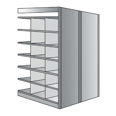 "Hallowell Deep Bin 87"" H 7 Shelf Shelving Unit Starter"