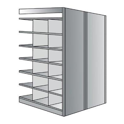 """Hallowell Deep Bin 87"""" H 7 Shelf Shelving Unit Starter"""