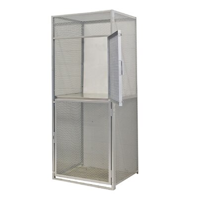 Hallowell Bulk Storage Double Tier Starter Unit (Knock-Down) (Quick Ship)
