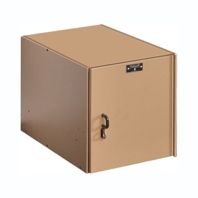 Hallowell SpaceCube Plastic Locker Single Tier 1 Wide (Assembled)