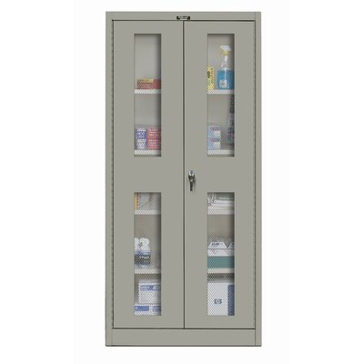 Hallowell 400 Series Stationary Ventilated Assembled Storage Cabinet