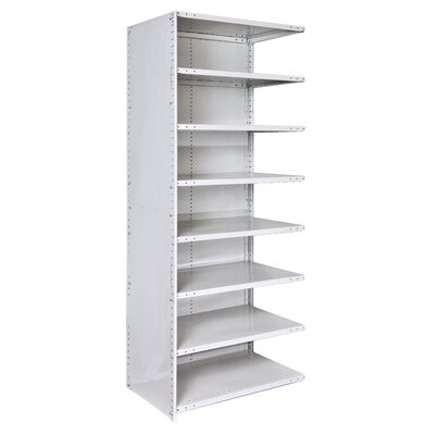 Hallowell MedSafe Antimicrobial Knock-Down Hi-Tech Shelving