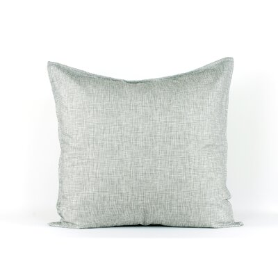 LJ Home Ivory and grey euro sham