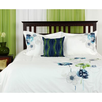 LJ Home Melody Duvet 4 Piece Cover Set