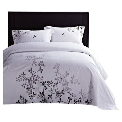 LJ Home Ravel 3 Piece Duvet Cover Set