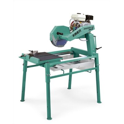 "Imer Masonry 350 5.5 HP 14"" Blade Diameter Gas Up Table Saw"