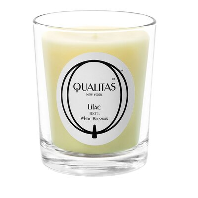 Qualitas Candles Beeswax Lilac Scented Candle