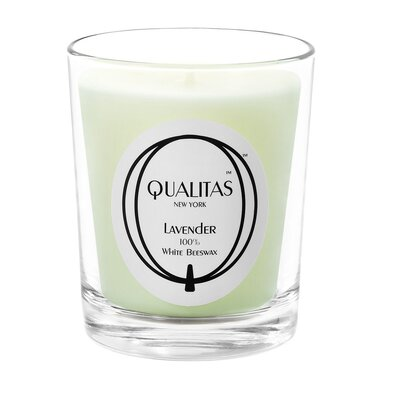 Qualitas Candles Beeswax Lavender Scented Candle