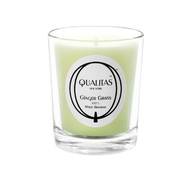 Qualitas Candles Beeswax Ginger Grass Scented Candle