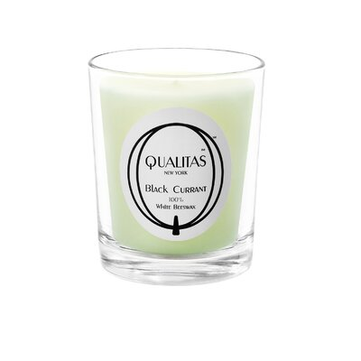 Qualitas Candles Beeswax Black Currant Scented Candle