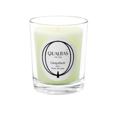 Qualitas Candles Beeswax Grapefruit Scented Candle