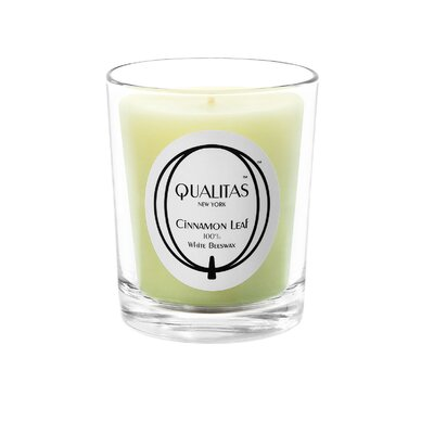Qualitas Candles Beeswax Ciinamon Leaf Scented Candle