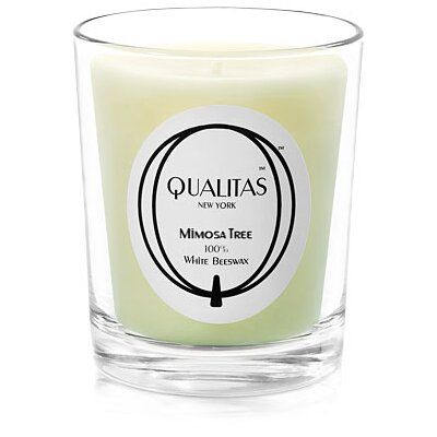 Qualitas Candles Beeswax Mimosa Tree Scented Candle