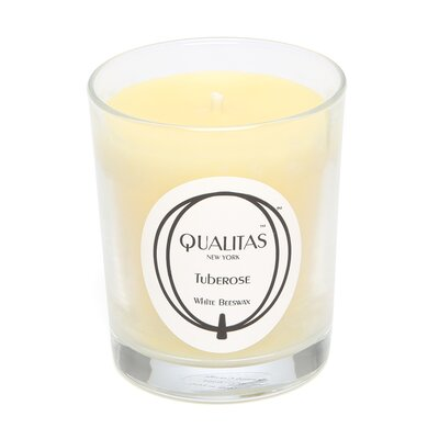 Qualitas Candles Beeswax Tuberose Scented Candle