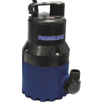 60 GPM Clear Water Pond Pump