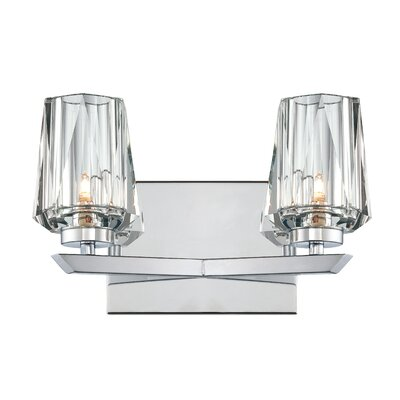 Alternating Current Ginsu 2 Light Bath Vanity Light