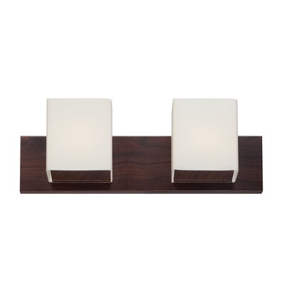 Alternating Current FeeFiFaux 2 Light Bath Vanity