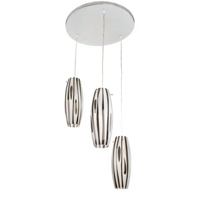 Alternating Current Chroman Empire 3 Light Pendant Cluster