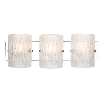 Alternating Current Brilliance 3 Light Bath Vanity Light
