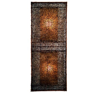 Padmas Plantation Wicker Large Partition Lamp