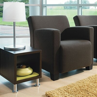 Steelcase Jenny™ Leather Club Lounge Chair and Table Kit