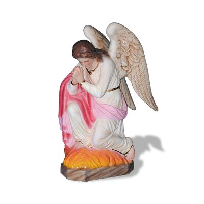 ResinStone Adoration Angel Statue
