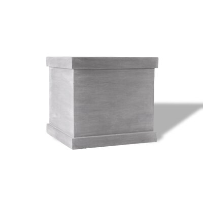 Amedeo Design ResinStone Modern Square Planter