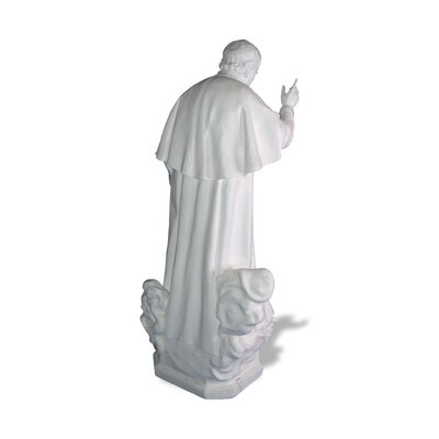 Indoor Don Bosco with Children Statue