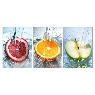 Fresh Fruit Modern Wall Art Decoration
