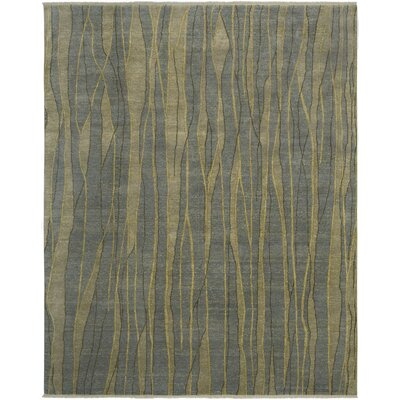Taki Design French Blue, Hand-Knotted Rug