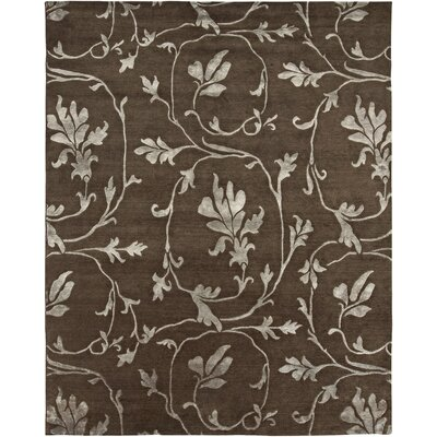 AMER Rugs Orma Design Chocolate, Hand-Knotted Rug