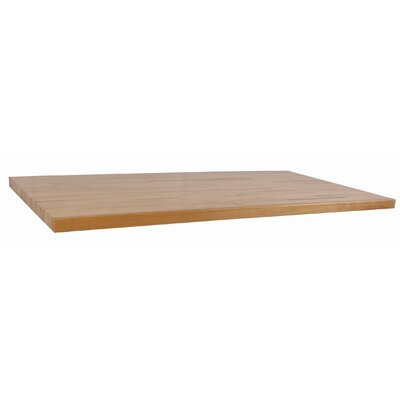 WB Manufacturing Hardwood Butcher Block Top