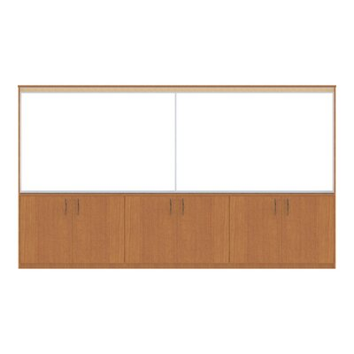 WB Manufacturing Information eXchange Two Door Base / Hutch Unit Wall System