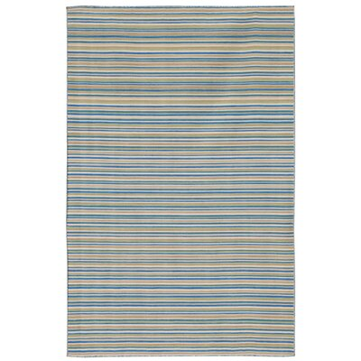Coastal Living™ by Jaipur Rugs Dhurries Pastel Blue Rug