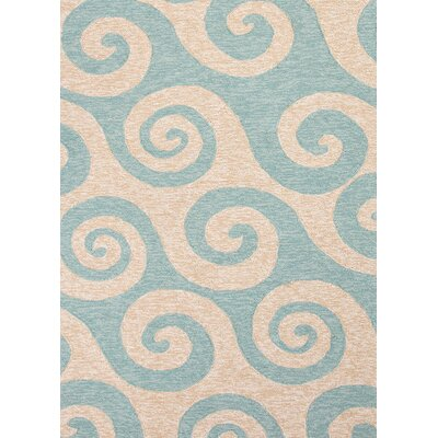 Coastal Living™ by Jaipur Rugs Coastal Living(R) I-O Blue Coastal Rug