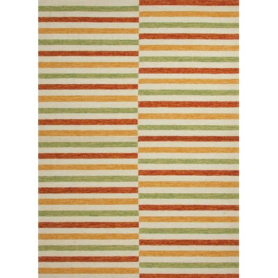 Coastal Living™ by Jaipur Rugs Coastal Living(R) I-O Marigold Stripe Rug
