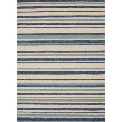 Coastal Living™ by Jaipur Rugs Coastal Living(R) I-O Blue Stripe Rug