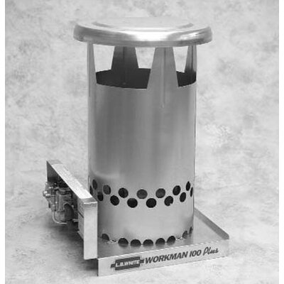 L.B. White Workman 100,000, BTU Convection Tank Top Natural Gas Space Heater