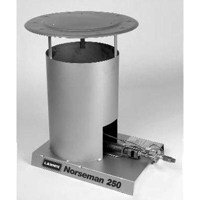 L.B. White Norseman 250,000 BTU Convection Tank Top Propane Space Heater