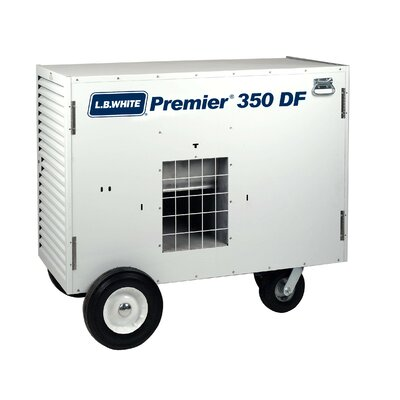 Premier-350DF 350,000 BTU Utility Natural Gas Space Heater