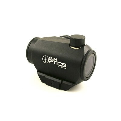 Sun Optics Mini Red Dot 4 Moa, 11 Stage Rheostat