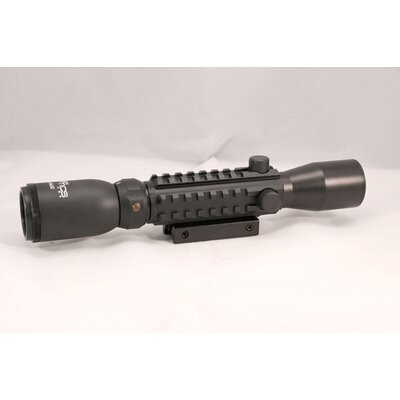 4X28 Tactical W/ Picatinny/Illuminated Reticle