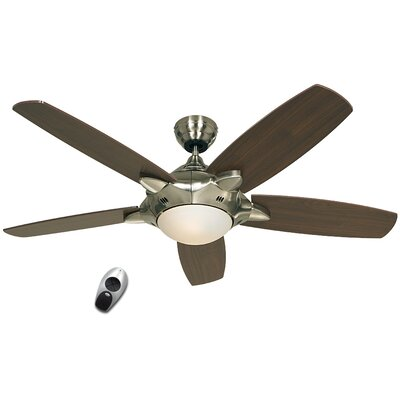 CasaFan Mercury 5 Blade Ceiling Fan With Light With Remote