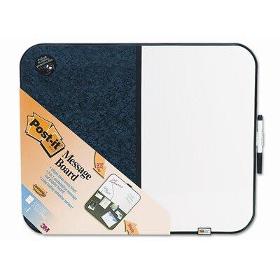 3M Post-It Self-Stick/Dry Erase Combination 1.56' x 1.94' White Board