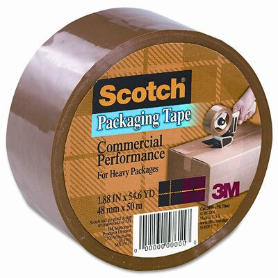 3M Scotch 3750 Commercial Grade Packaging Tape