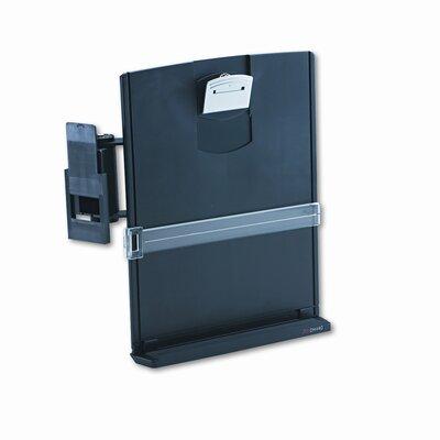 3M Adjustable Monitor Mount Clip Copyholder, Plastic, 35 Sheet Capacity