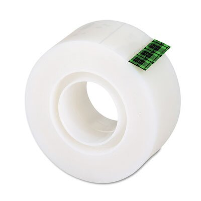 "3M Magic Office Tape, 1"" x 36 Yards, 1"" Core, Clear"