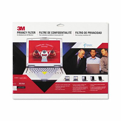 3M Notebook/Lcd Privacy Monitor Filter for 19.0 Notebook/LCD Monitor