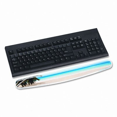 3M Gel Compact Wrist Rest, Beach Design