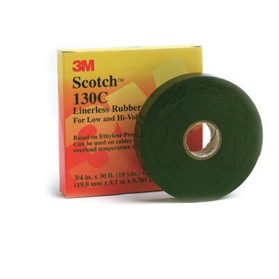 3M X 30' Scotch® Linerless Rubber Splicing Tape 130C